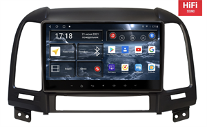 Штатная магнитола Redpower 75008 Hi-Fi для Hyundai Santa Fe III 2005-2012 на Android 10.0
