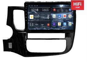 Штатная магнитола Redpower 75156 Hi-Fi для Mitsubishi Outlander III 2013-2020 на Android 10.0