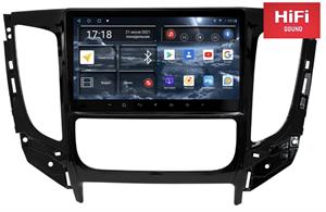 Штатная магнитола Redpower 75424 Hi-Fi для Mitsubishi Pajero Sport III, L200 V 2015-2019 МКП с климат-контролем на Android 10.0