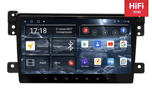 Штатная магнитола Redpower 75053 Hi-Fi для Suzuki Vitara III 2005-2015 на Android 10.0