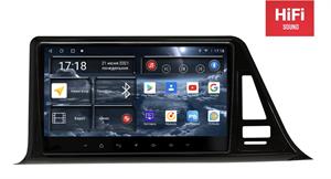 Штатная магнитола Redpower 75027 Hi-Fi для Toyota C-HR I 2016-2020 на Android 10.0