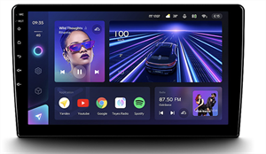 Универсальная магнитола 9 дюймов Teyes CC3 4/64 ГБ на Android 10.0