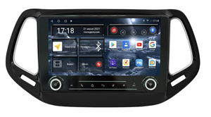 Штатная магнитола Redpower K75315 Hi-Fi для Jeep Compass II 2017-2021 на Android 10.0