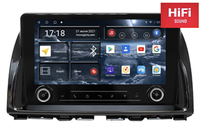 Штатная магнитола Redpower K75112 Hi-Fi для Mazda CX-5 I 2011-2017 на Android 10.0