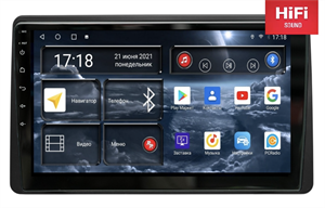 Штатная магнитола Redpower 75258 Hi-Fi для Renault Duster 2020-2021 на Android 10.0