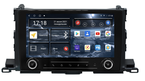 Штатная магнитола Redpower K71184 для Toyota Highlander (U50) 2014-2018 на Android 10.0