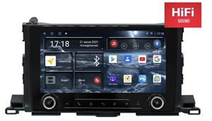 Штатная магнитола Redpower K75184 Hi-Fi для Toyota Highlander (U50) 2014-2018 на Android 10.0