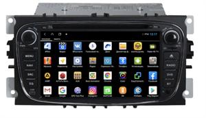 Parafar для Ford Focus, Mondeo, S-Max, Galaxy, C-Max на Android 9.0 (PF148XHDDVDb)