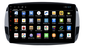 Parafar для Mercedes Fortwo III 2014-2019, Forfour II 2014-2019 на Android 9.0 (PF214XHD)