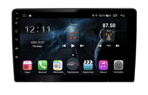 Универсальная магнитола H858 1 DIN 10 дюймов на Android 10.0