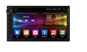 2 DIN универсальная магнитола CarMedia OL-7002-S9 на Android 8.1