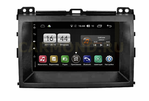 Штатная магнитола FarCar s185 для Toyota Prado 2002 - 2009 на Android 8.1 (LX832-RTY-N05)