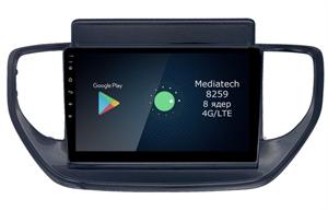 Штатная магнитола Roximo 4G RX-2021-N20 для Hyundai Solaris 2020+ на Android 10.0