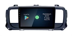 Штатная магнитола Roximo 4G RX-2907 для Citroen SpaceTourer, Jampy III 2016-2020 на Android 10.0