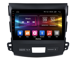 CarMedia OL-9636-2D-N для Peugeot 4007 2007-2012 на Android 10.0