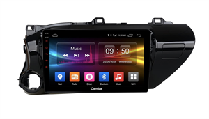 CarMedia OL-1686-2D-P для Toyota Hilux VIII 2015-2020 на Android 10.0