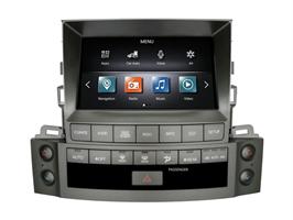 CarMedia ZF-8001-DSP Tesla-Style для Lexus LX III 570 2007-2015 на Android 9.0