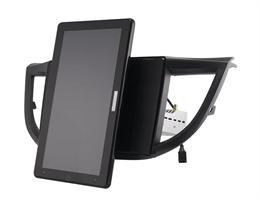 CarMedia OL-1641-2D-RL TESLA (вертикально-поворотный экран) для Honda CR-V IV 2012-2016 на Android 10.0