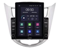 CarMedia OL-9707-2D-HL TESLA для Hyundai Solaris I 2011-2017 на Android 10.0