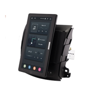 CarMedia OL-9636-2D-RL TESLA (вертикально-поворотный экран) для Peugeot 4007 2007-2012 на Android 10.0