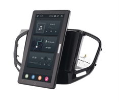 CarMedia OL-9061-2D-RL TESLA (вертикально-поворотный экран) для Lada Vesta 2015-2021 на Android 10.0
