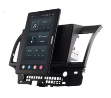 CarMedia OL-1632-2D-RL TESLA (вертикально-поворотный экран) для Mitsubishi Lancer 2007-2017 на Android 10.0