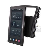 CarMedia OL-9566-2D-RL TESLA (вертикально-поворотный экран) для Mitsubishi Pajero IV 2006-2019 на Android 10.0
