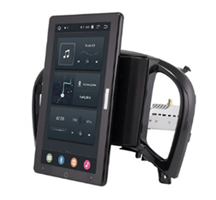 CarMedia OL-9672-2D-RL TESLA (вертикально-поворотный экран) для NISSAN Juke 2010-2014 на Android 10.0