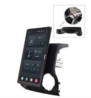 CarMedia OL-1258-1-2D-RLX TESLA (вертикально-поворотный экран) для JEEP Wrangler 2007-2017 на Android 10.0