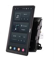 CarMedia OL-9636-2D-RLX TESLA (вертикально-поворотный экран) для Mitsubishi Outlander II (XL) 2006-2012 на Android 10.0