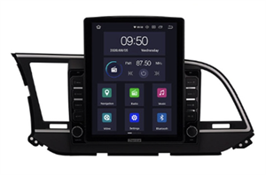 CarMedia OL-9708-2D-HL TESLA для Hyundai Elantra VI (AD) 2016-2019 на Android 10.0