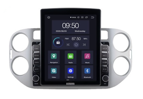CarMedia OL-9908-2D-HL TESLA для Volkswagen Tiguan 2007-2016, Golf Plus 2004-2014 на Android 10.0