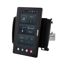 CarMedia OL-9803-2D-RL TESLA (вертикально-поворотный экран) для Great Wall Hover H3, Hover H5 2010-2018 на Android 10.0