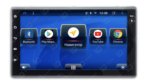IQ NAVI TS9-2101P с DSP + 4G SIM магнитола 2 DIN универсальная на Android 8.1