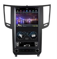Штатная магнитола Farcar ZF010 DSP Tesla Style для Infiniti FX37 2008-2013 на Android 9.0