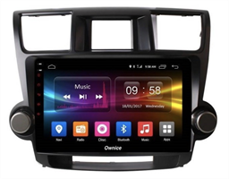 CarMedia OL-1616-2D-P для Toyota Highlander (U40) 2007-2013 на Android 10.0