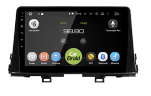 Штатная магнитола Roximo CarDroid RD-2332F для Kia Picanto III 2017-2020 на Android 10.0 DSP
