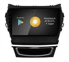 Штатная магнитола Roximo S10 RS-2019-N17 для Hyundai Santa Fe III 2012-2019 на Android 10.0