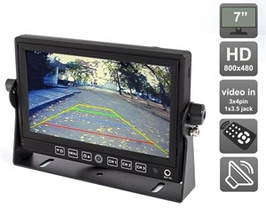 """AVIS Electronics AVS4714BM 7"""" для грузовиков и автобусов"""