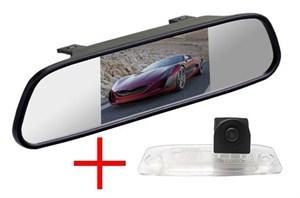 Зеркало + камера cam-021 для Kia Sportage 10+, Rio 4, Sorento 2,3, Mohave, Ceed, Carence, Opirus / Hyundai Elantra, Genesis, Sonata, Tucson, ix55