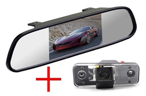 Зеркало + камера cam-022 для Hyundai Santa Fe 2006-2012
