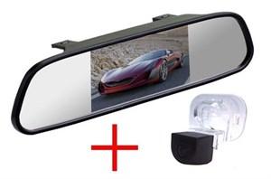 Зеркало + камера cam-017 для Hyundai Solaris (sedan), Verna, Kia Cerato (09-12), Venga (10+)