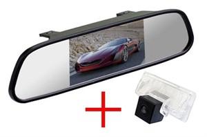 Зеркало + камера cam-042 для Nissan Almera (13+), Teana, Tiida 04+ Sedan, Sentra 2014+ / Suzuki SX4 06+ Sedan