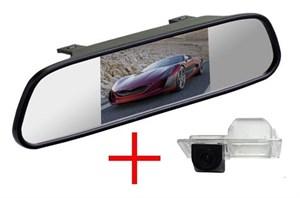 Зеркало + камера cam-012 для Chevrolet Aveo 12+, Cruze 12+ hatchback, Trailblazer 13+ / Opel Mokka 12+, Astra J 09+