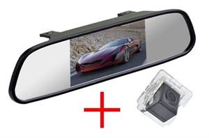 Зеркало + камера cam-050 для Mitsubishi Outlander XL (06+), Lancer X Sportback, Citroen C-Crosser, Peugeot 4007