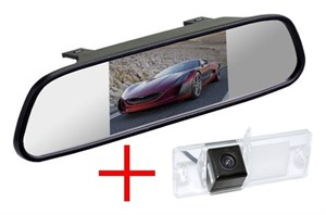 Зеркало + камера cam-103 для Mitsubishi Pajero IV 2006+, Sport