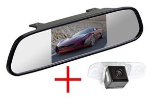 Зеркало + камера cam-071 для Volvo C70, S40, S60, S80, V50, V60, V70, XC60, XC70, XC90