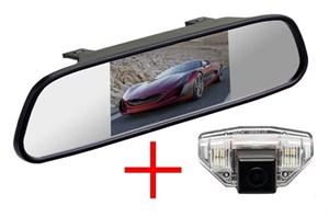 Зеркало + камера cam-052 для Honda CR-V (06-12), Fit (08-13), Odyssey (09-10), HR-V, Crosstour