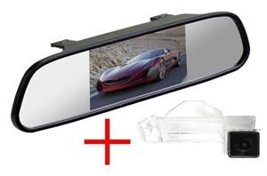 Зеркало + камера cam-049 для Mitsubishi ASX 2010+, Peugeot 4008, Citroen C4 Aircross