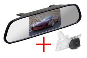 Зеркало + камера для Hyundai Elantra 2011+, Solaris II 2017+, Kia Cerato 13+, Ceed SW 12+ универсал